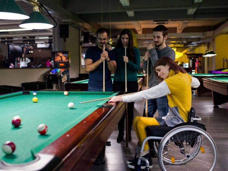 Pflege Behinderung Rollstuhl